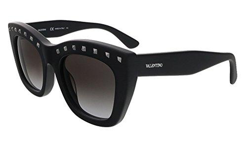 Valentino Metal Sunglasses (Valentino Valentino Women's Sunglasses V716s, black, 51)