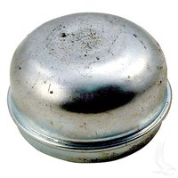 Club Car Front Hub Dust Cap Cover Metal (82-03) DS Golf Cart Spindle