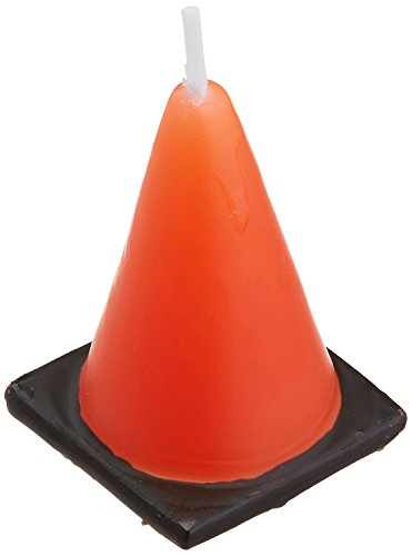 orange cones candles - 6