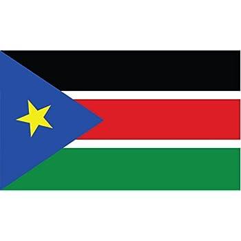 South Sudanese Flag Sticker Decal Vinyl Sudan SDN SD