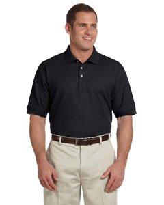 Devon & Jones Men's Tall Pima Piqué Short-Sleeve Polo 3XT - Jersey Stretch Pima Sleeve