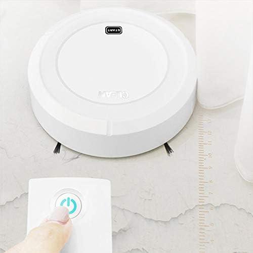 Robot Vacuum Aspirateur Automatique Domestique Homme Paresseux Aspirateurs Pour Cheveux D\'Animaux Domestiques Tapis De Sol Dur Aspirateur De Charge Intelligent