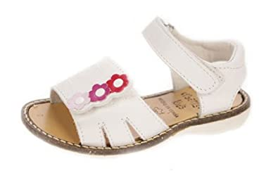 7cb040abb9c2 URBANITAS KIDS Girls  Sandals white Size  UK 1.5  Amazon.co.uk ...
