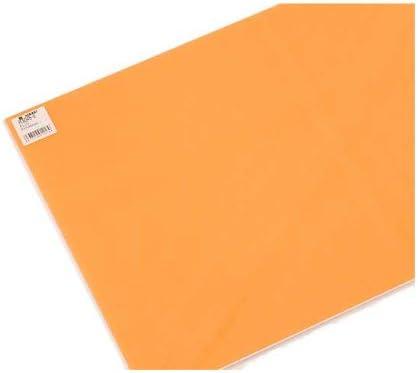 光 カラーボード オレンジ 300×450mm 00874299-1 RCB345-8