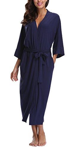 Jersey Knit Bath Robe - 5
