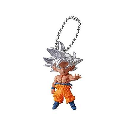 Dragon Ball Super Gashapon UDM Burst 33 Son Goku (migatte no gokui) with Keychain Capsule Toy