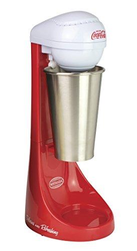 Nostalgia MLKS100COKE Coca-Cola Two-Speed Milkshake Maker