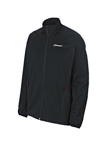 Windstopper Jacket Shell - Berghaus Men's Cadence Soft-Shell Jacket, Large, Black