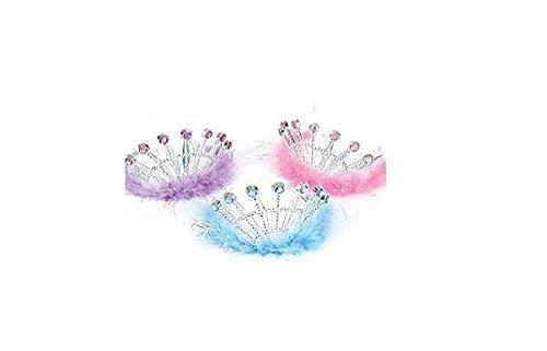 Jeweled Feather Princess Tiaras (1 (Feather Princess Tiara)