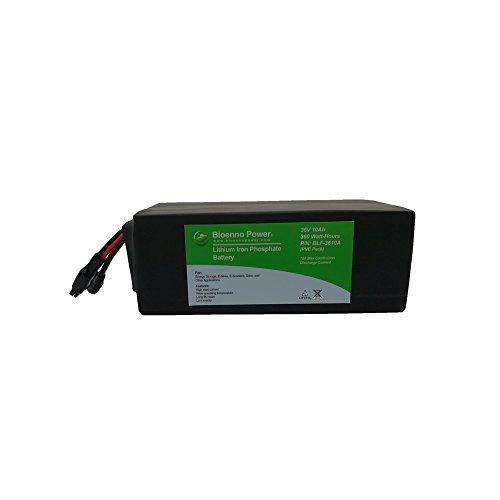 Bioenno Power 36V, 10Ah LFP Battery (PVC, BLF-3610W)