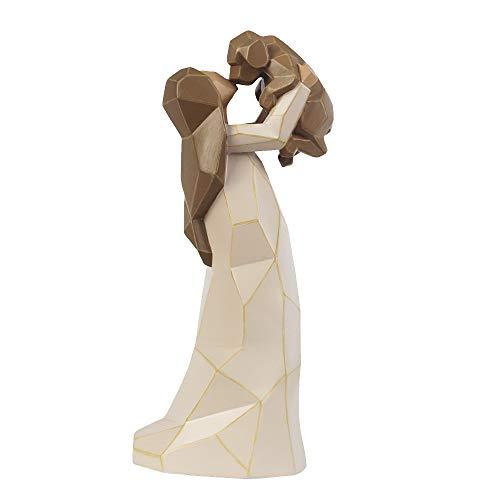 (jinhuoba Dog Angel Figurines Friendship, 8 Inch Hand Painted Pet Memorial Gift, Beautiful Memories of Friendship Sculpture - Pet Lost Sympathy Gift)