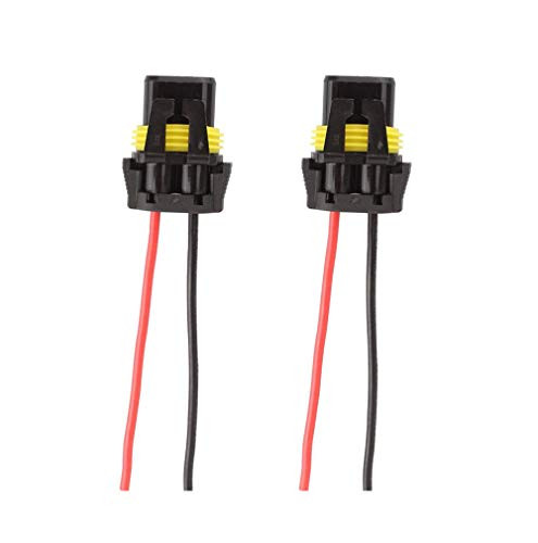 9006 Headlight Wire Harness - 9005 9006 Wiring Harness Headlight Socket Female Adapter Connector For Headlights Fog Lights(pack of 2)