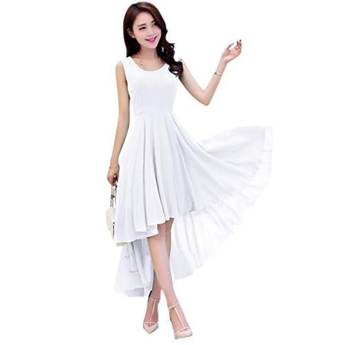 Dasior Women's A-Line Asymmetric High Low Summer Beach Holiday Party Dress for cheap