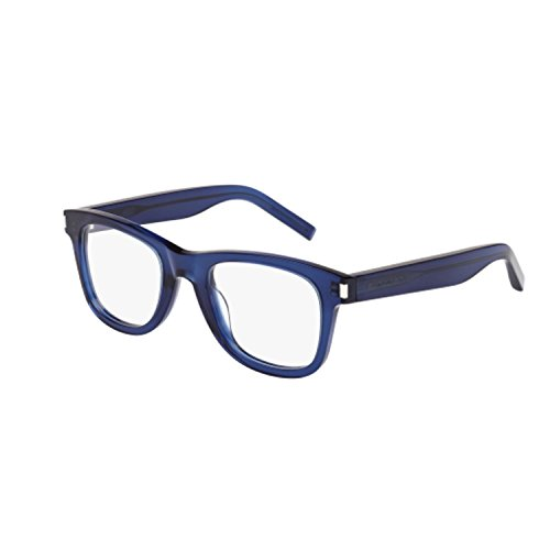 Saint Laurent - SL 50, Geometric, acetate, men, BLUE(008 A), - Saint Shop Laurent