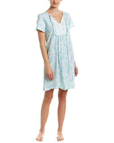 Carole Sleepshirt - Carole Hochman Women's Sleepshirt Pretty Paisley Medium