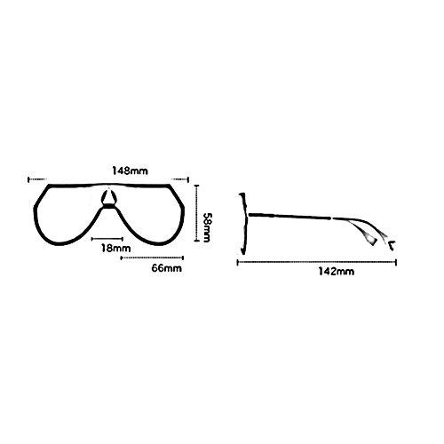 Color Gafas Sol Silver Black Water Gold Para Gafas De Controladores HONEY De Personalidad Black Europeo Unisex nbsp; Viaje Exteriores Grey Estilo 6vtqvFw