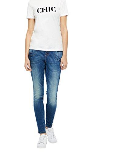 PULZ Jeans, Damen, W34/L34, denim