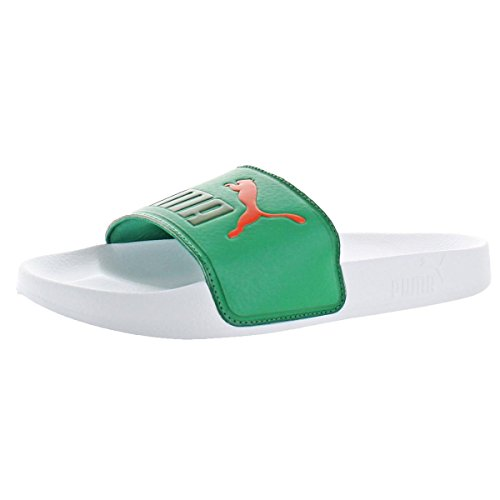 Verdant Leadcat Sandal PUMA Strap dark Green Green Red puma qB4EtE