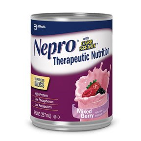 Nepro with Carb Steady MIXED BERRY Cans 24 X 8oz Case **2 CASE SPECIAL** by Abbott Nutrition