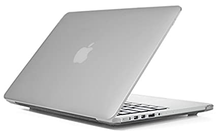 official photos ea134 cb1d7 iPearl mCover Hard Shell Case for 13-inch Model A1425 / A1502 MacBook Pro  (with 13.3-inch Retina Display) - Frosted Clear