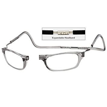 a6642fbe75 Image Unavailable. Image not available for. Color  CliC +1.5 Diopter  Magnetic Reading Glasses  Expandable ...