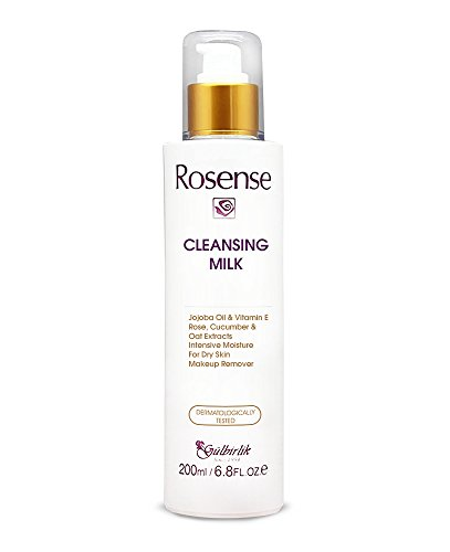 Price comparison product image Rosense Facial Cleansing Milk with Jojoba Oil & VitaminE and Rose Oil 6.8 Oz