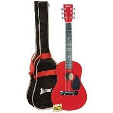 Lauren LAPKMRD 30-Inch Student Guitar Package - Metallic Red