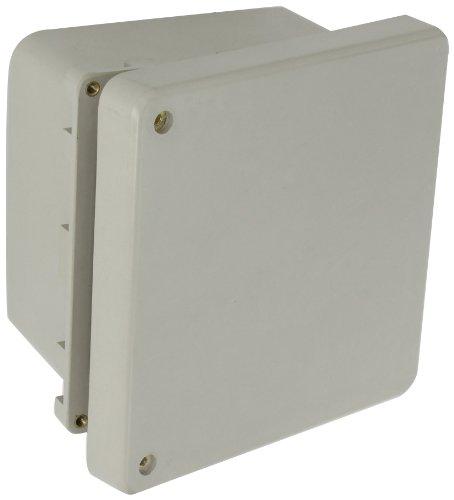 (BUD Industries NF-6610 Fiberglass NEMA Box with Screwed Cover, 7-3/4