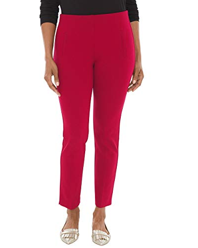 Chico's Women's So Slimming Juliet Ankle Pants Size 14 L (2.5 REG) Red ()