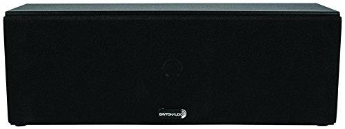 Dayton Audio C452 Dual 4-1/2″ 2-Way Center Channel Speaker (Black)