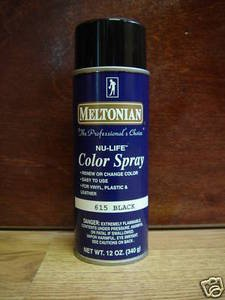 Meltonian Nu-Life Shoe Color Spray - 12 Ounces, Black (Meltonian Color Spray compare prices)