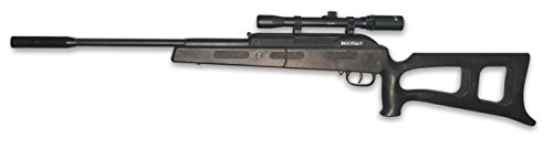 Rebel Air Rifle W  4X20 Scope