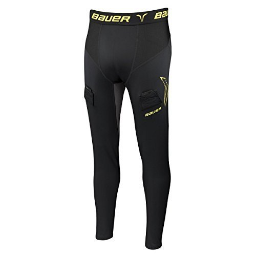 - Bauer Premium Comp Jock Pant with Cup Youth (Medium)
