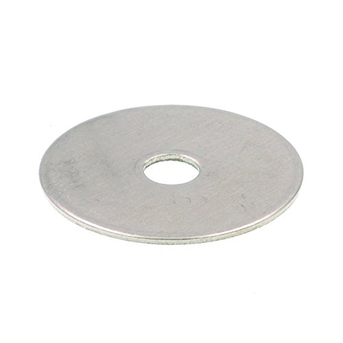 Prime-Line 9081222 Fender Washer, 1/8 in X 1 in, Grade 18-8 Stainless Steel, Pack of 25 by Prime-Line Products (Image #1)