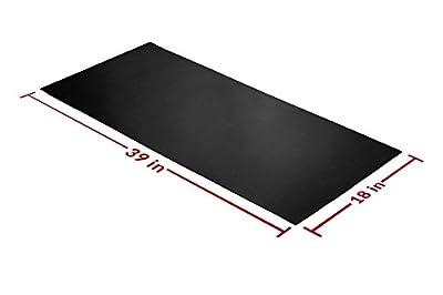 Rubber Sheet 39x18-in Black