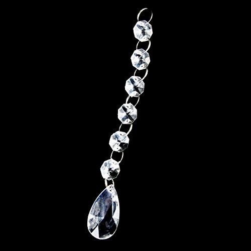 crystal acrylic gems bead - 9