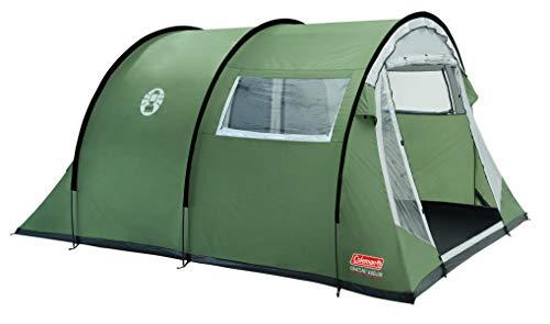 🥇 Coleman Coastline 4 Deluxe Tienda de campaña de túnes de 4 plazas para Camping o Festivales