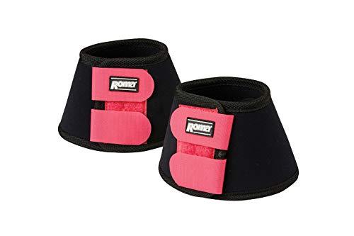 Weatherbeeta, Roma, Neoprene Bell Boots, Black/Pink