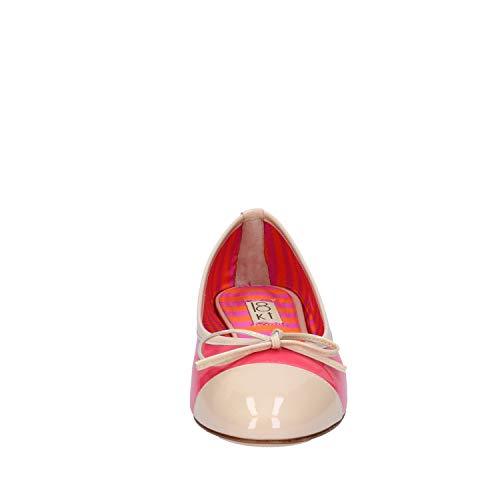 Bailarinas Rojo Mujer Charol 18 Kt fH5qxwTS