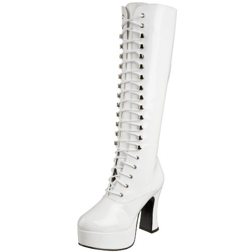 Boot Pleaser Exotica Funtasma White 2020 Patent Women's by 4HwgCxqCzp