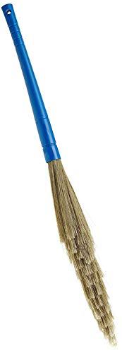 Monku Home Care Plastic Wet and Dry Broom(Jhado) (Blue) (1)