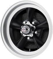 American Racing Hot Rod Torq Thrust D VN105 Torq Thrust Gray Wheel with Machined Lip 14x6//5x4.5