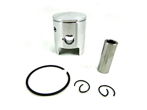 Pro Piston Ring Set (Engine Piston Kit Ring Pin Spring Set for KTM50 KTM 50 Junior Senior Sx Pro Jr Sr Lc Mini Adventure Supermoto 2001-2008)