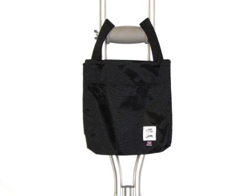 Handi Pockets 1a4bk Storage Accessory Crutch, Nylon, Black by Handi Pockets (Image #1)