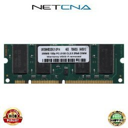 2600776-200 256MB Konica Minolta MagiColor 2450 PC2100 DDR Printer SODIMM 100% Compatible memory by NETCNA - 256 Ram Mb Printer