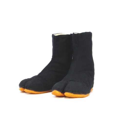 Ninja Boot (Child's Ninja Shoes, Tabi Boots, Jikatabi, Rikio Tabi/ Travel Bag (JP 21.5 approx US 2.5 EU)