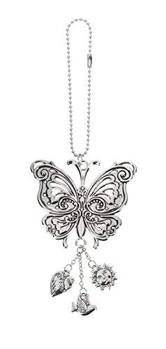 Ganz Butterfly Car Charm ()
