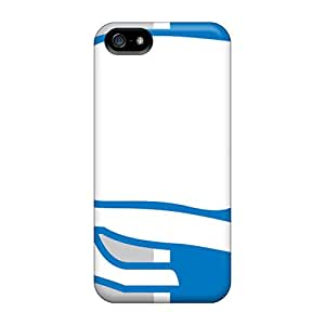 CharlesPoirier Iphone 5/5s Shock Absorption Cell-phone Hard Cover Customized Fashion Detroit Lions Series [LOO16289glkr]