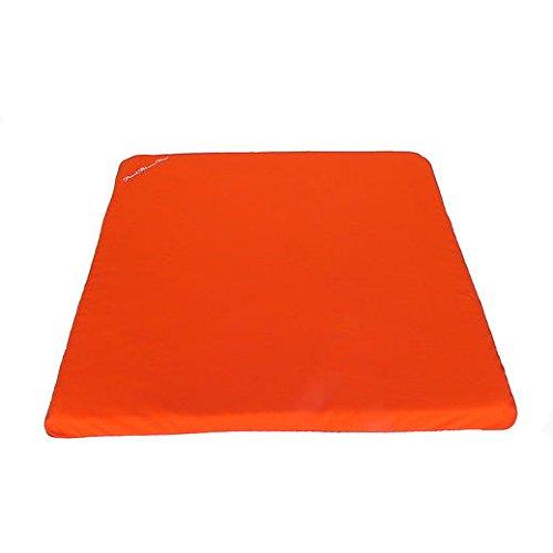 "Zabuton Meditation Cushion 26.5"" x 26.5"" with 1.75"" dense foam for Restorative Yoga and Comfort"