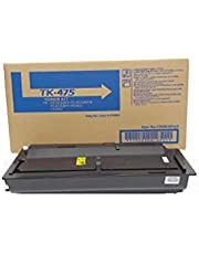 Compatible for Kyocera TK475 Compatible FS-6025/6030/6525/6530 Black Toner Cartridge (15000 Page Yield) TK-475